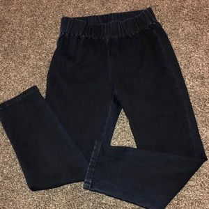 🖤🖤 SOFT SURROUNDINGS DARK WASH JEGGINGS JEANS XS